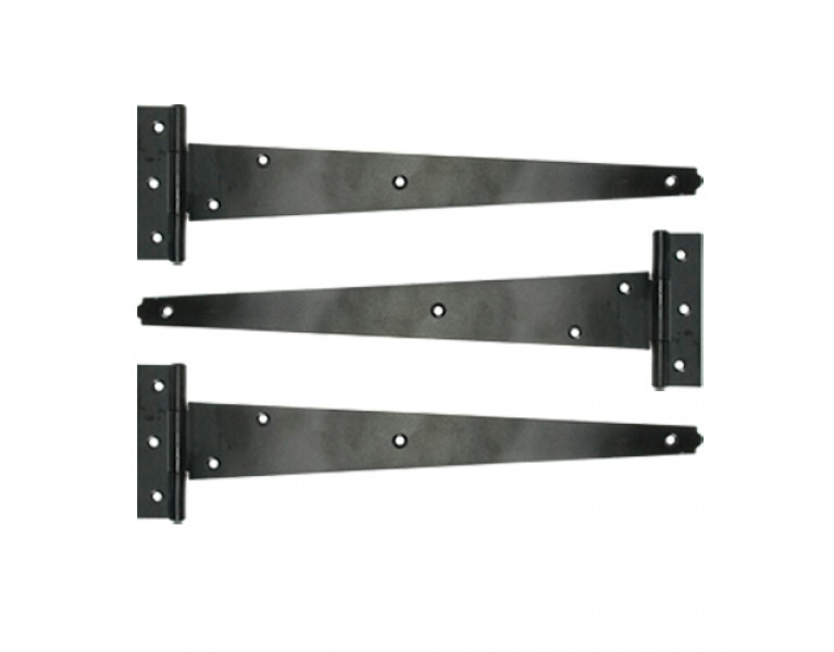T-Hinges (Set of 3) - Black