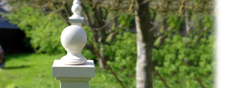 Post Cap & Ball Finials Header Photo