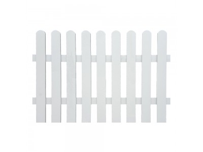 Picket Fence Panel - Painted Finish Photo