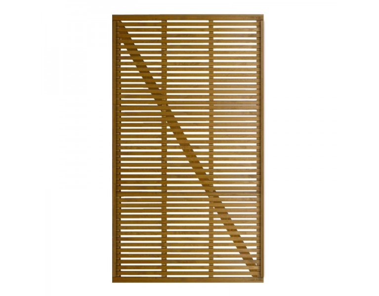 Slatted Gate - Natural Finish
