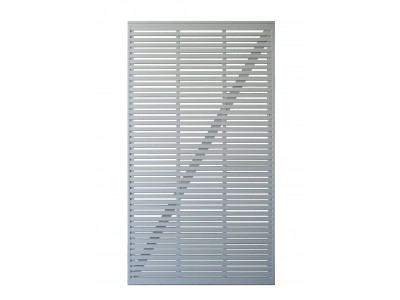 Slatted Gate - Painted Finish Photo