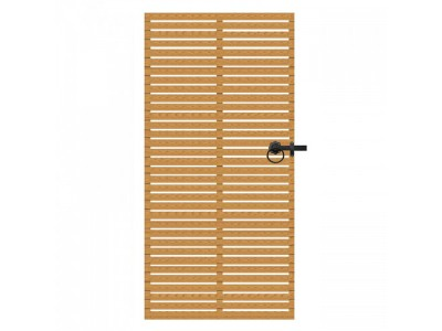 Slatted Gate - Natural Finish Photo