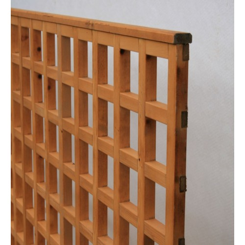 trellis panels natural finish