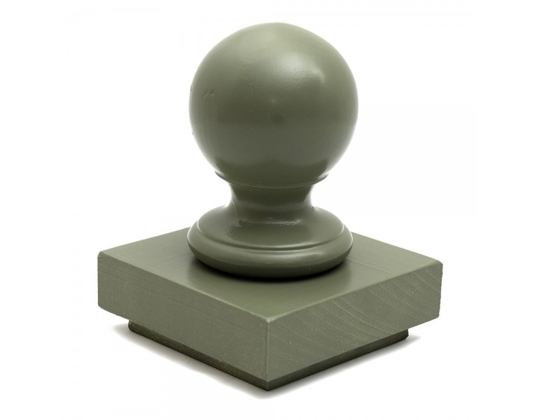 Ball Finial & Post Cap - Painted Finish