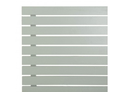 Slatted Screening Panel (7mm Gap) - Painted Finish Photo