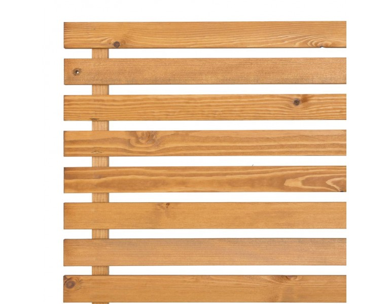 Slatted Screening Panel (15mm Gap) - Natural Finish